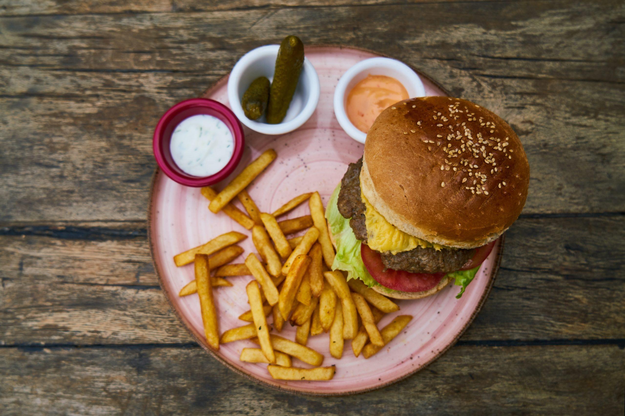 Beste Burger und die passenden Saucen